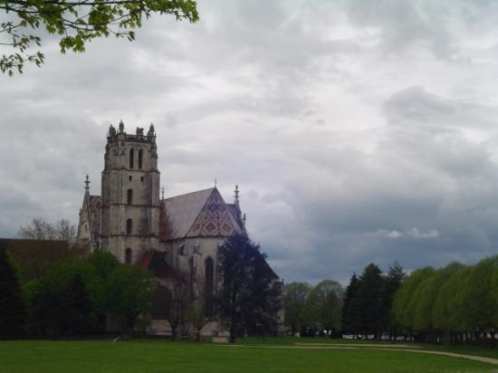 Vue du Côté Nord Est de l'église de Brou