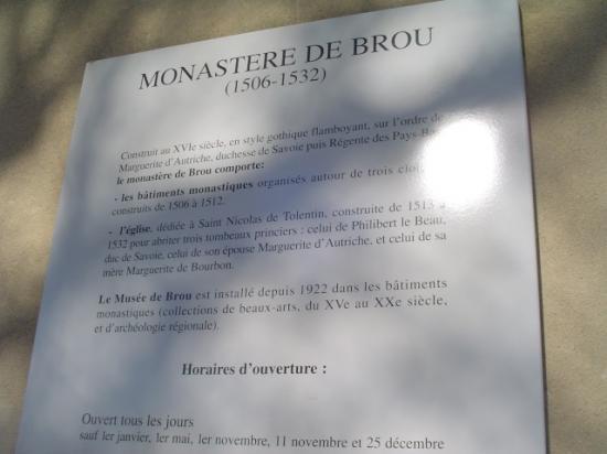 Histoire de Brou